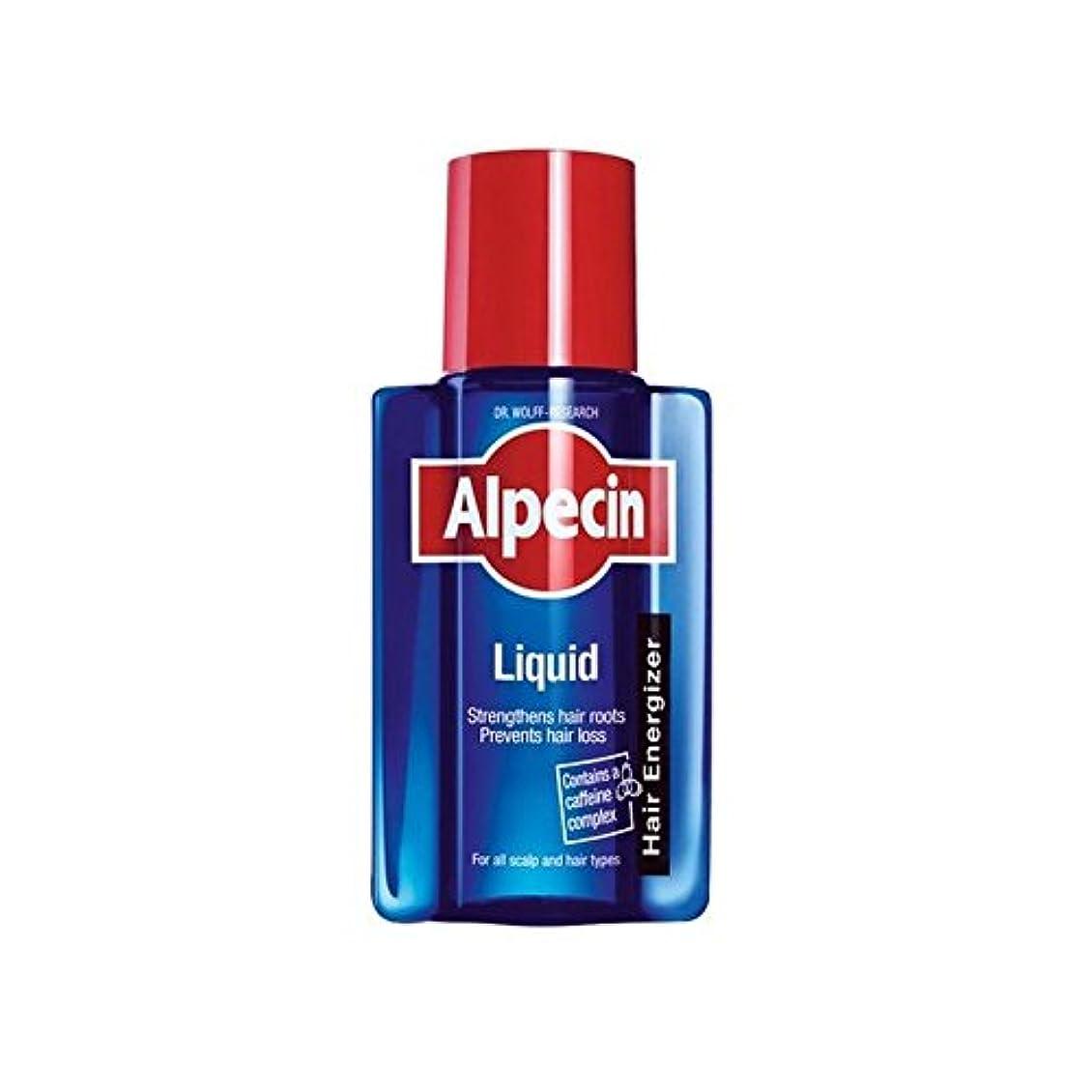 欺リングレット平和なAlpecin Liquid (200ml) (Pack of 6) - 液体(200)中 x6 [並行輸入品]