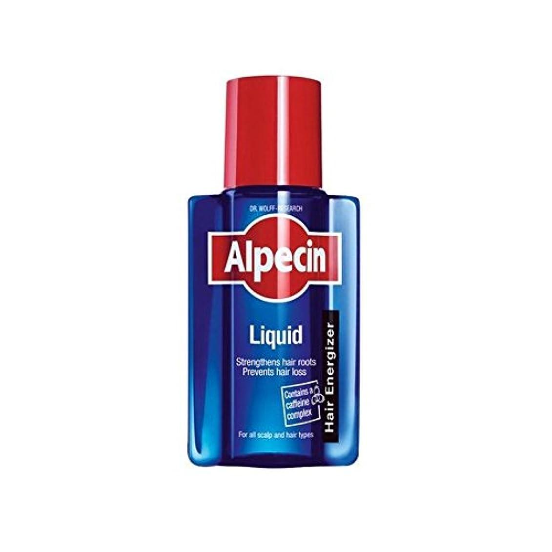 愚かなやるパイント液体(200)中 x4 - Alpecin Liquid (200ml) (Pack of 4) [並行輸入品]