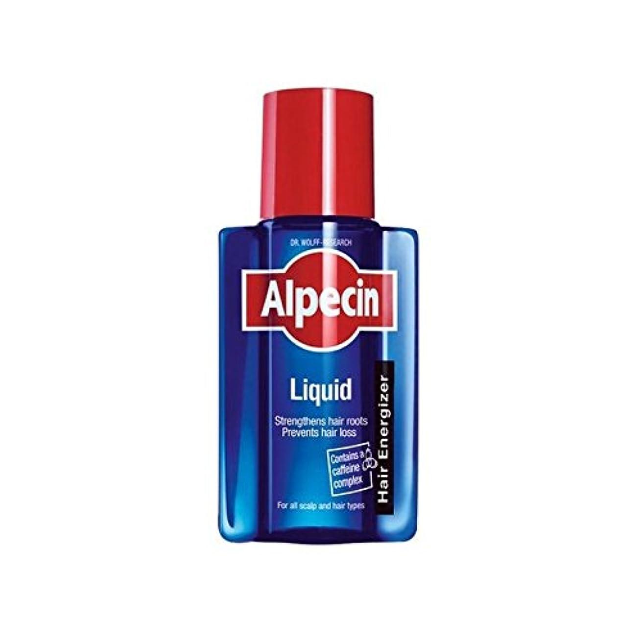 維持標準冷蔵庫液体(200)中 x4 - Alpecin Liquid (200ml) (Pack of 4) [並行輸入品]