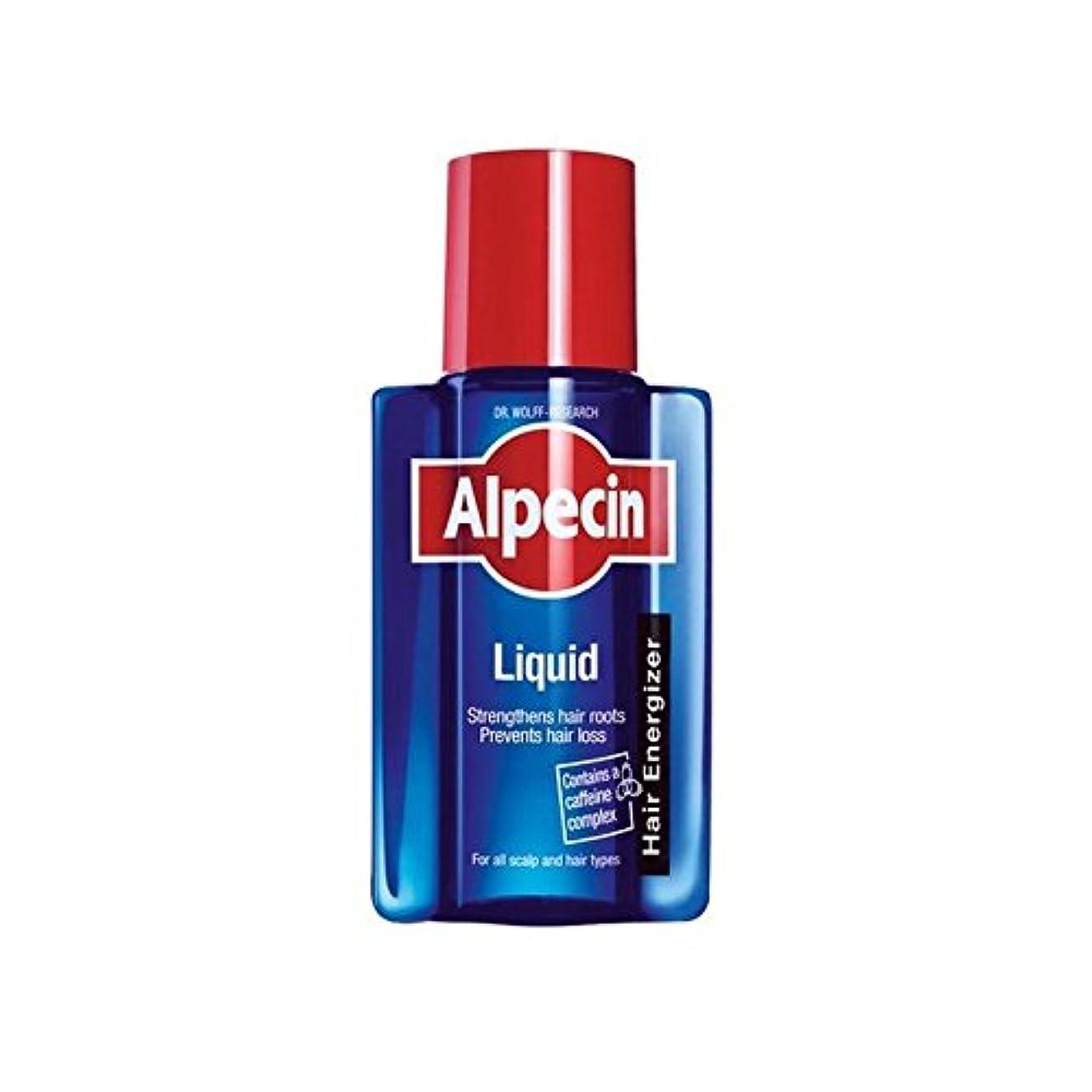圧縮された奇妙なスタンドAlpecin Liquid (200ml) (Pack of 6) - 液体(200)中 x6 [並行輸入品]