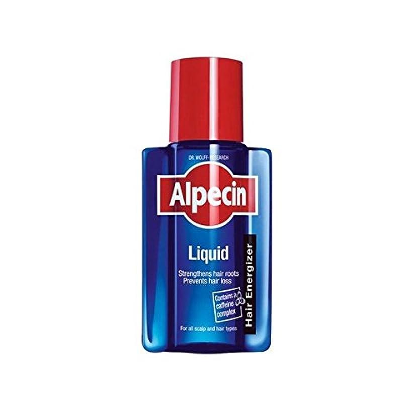 ミルク平野どうやら液体(200)中 x4 - Alpecin Liquid (200ml) (Pack of 4) [並行輸入品]