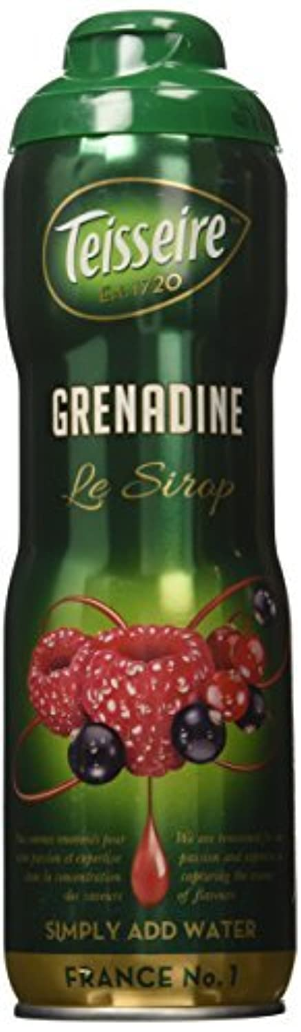 かき混ぜる評判大佐Grenadine Teisseire French Syrup Grenadine concentrate 60 cl [並行輸入品]