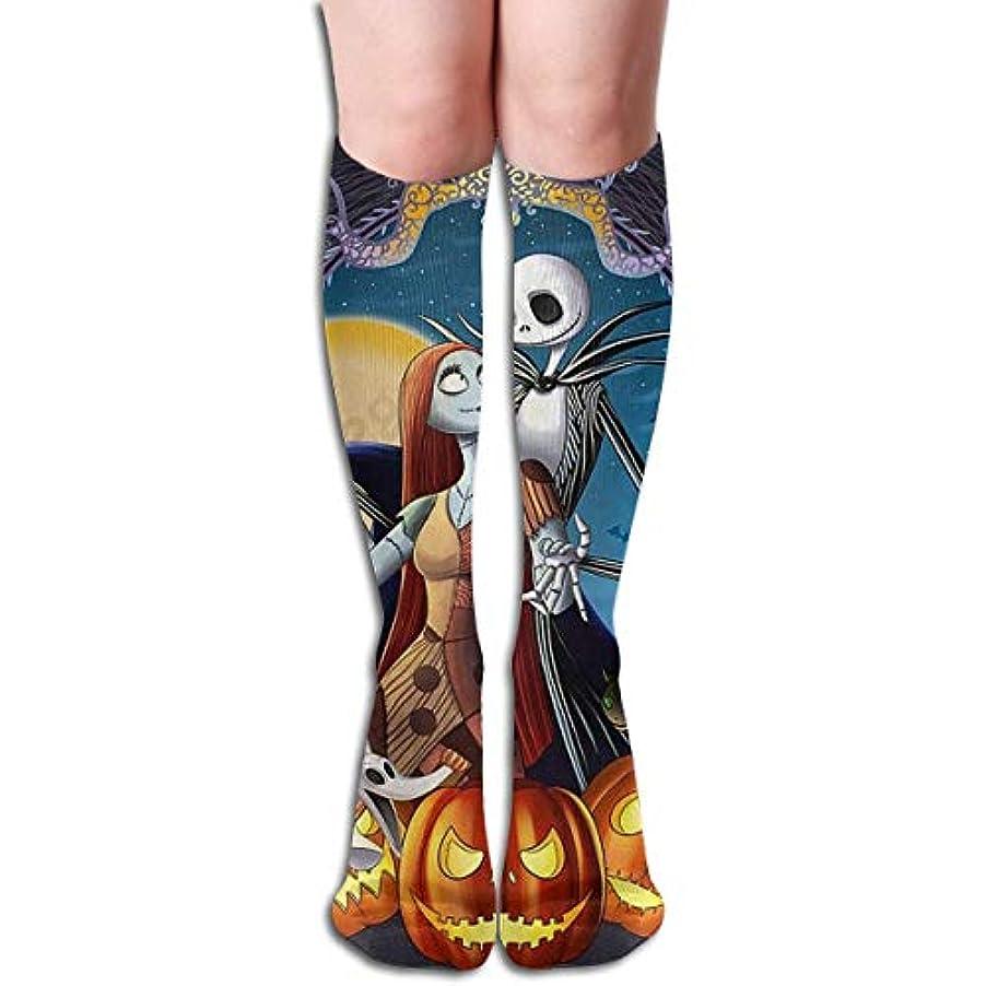 責任者技術的な賞qrriyジャックスキレントンクリスマスチューブストッキングレディース冬暖かい膝ハイソックスブーツ靴下