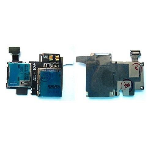Simply Silver - New MicroSD SIM Card Reader Holder Tray For ATT Samsung Galaxy S4 Active i537 - Unbranded [並行輸入品]