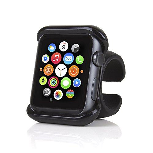 Satechi カーハンドル用 アップルウォッチ Apple Watch 1,2,3,4 対応 グリップマウント 自転車/バイクハンドル (42mm)