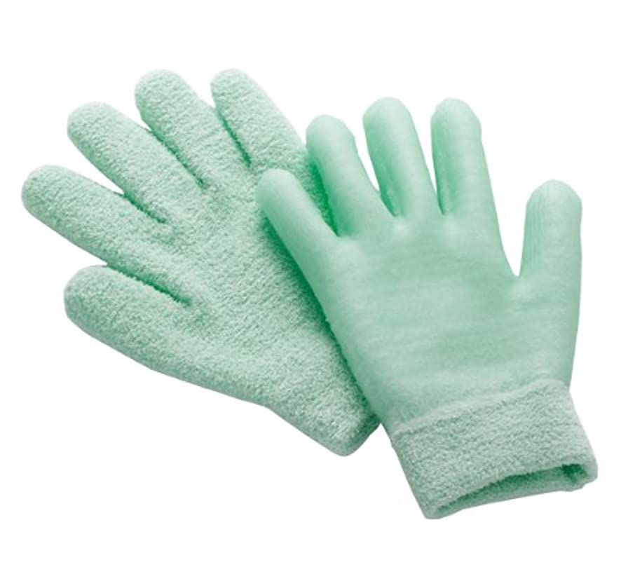 成人期引き付ける円形眠れる森のぷるジェル手袋 グリーン