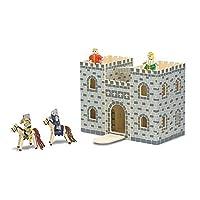 Melissa & Doug Children's Fold & Go Castle [並行輸入品]