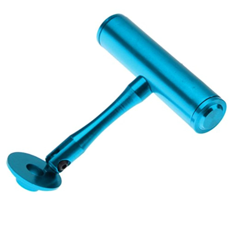 切手ホバートますますKOZEEY MTB バイク 自転車 ライト ハンドル バー エクステンダー マウント ランプ ブラケット ホルダー 4色 - ブルー