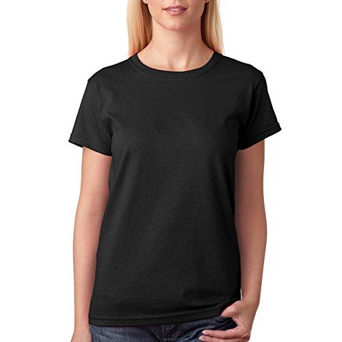 Tシャツ 無地 クルーネック シンプル スポーツウェア カジュアル オシャレ ファッション 半袖 コットン 丸首 厚手 綿100% 黒 M