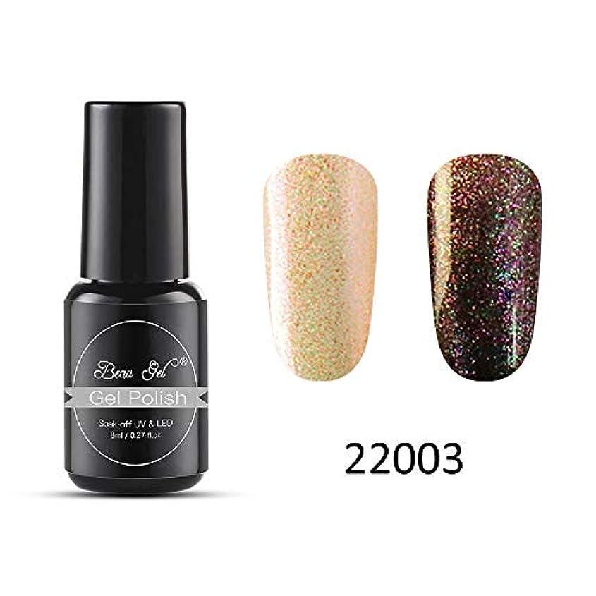 Beau gel ジェルネイル カラージェル 変色系 1色入り 8ml-22003