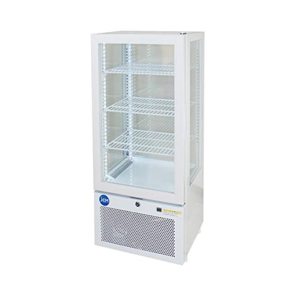 4面ガラス冷蔵ショーケース【JCMS-78】 J...の商品画像