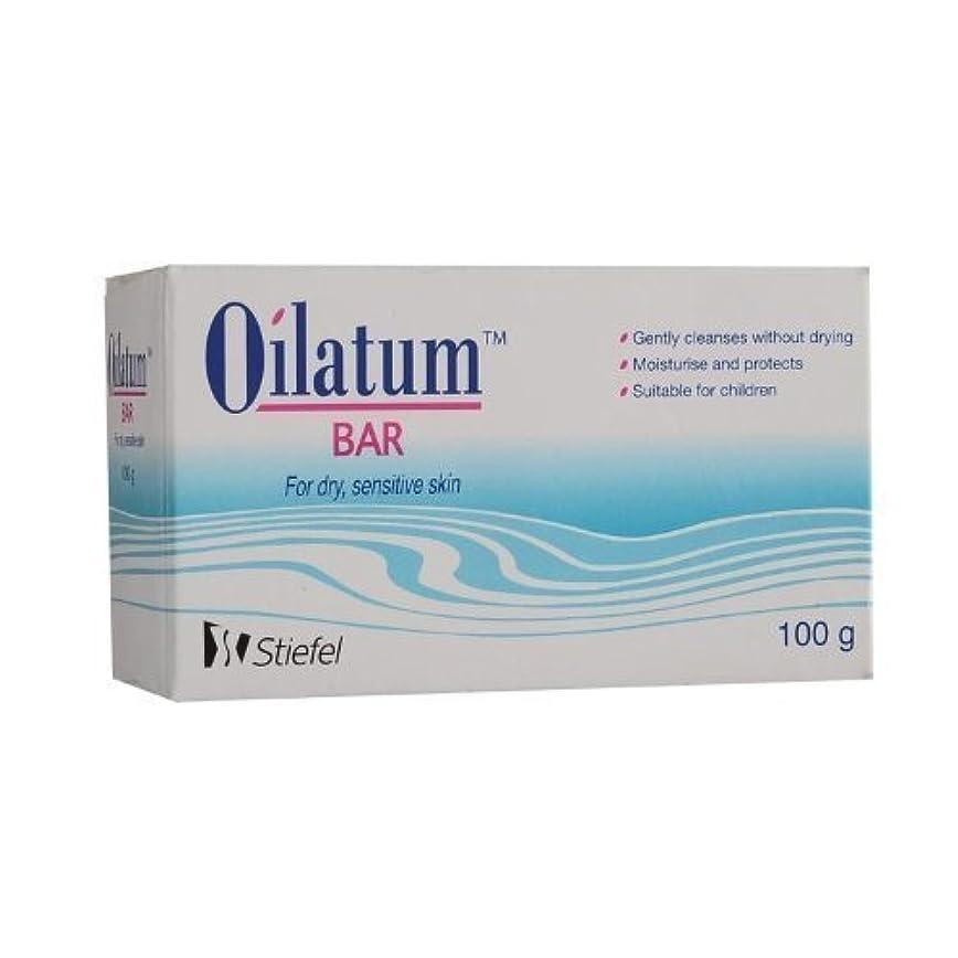 かび臭い哀れなデュアルOilatum Soap Bar 100g/1pack by BB MARKET