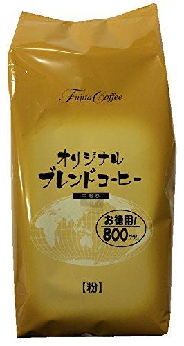 藤田珈琲 オリジナルブレンドコーヒー 中煎り 粉 800g