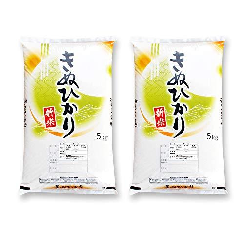 新米 徳島県産 キヌヒカリ 5kg×2袋 令和元年産 白米
