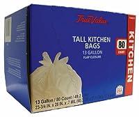ベリーグローバル1221752Tallキッチンゴミ袋、80-ct、13-gal。 1 1221752