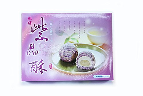 《Duntai ヅンタイ》紫晶酥-タロイモ大福ケーキ(12入) 《台湾 お取り寄せ土産》 [並行輸入品]