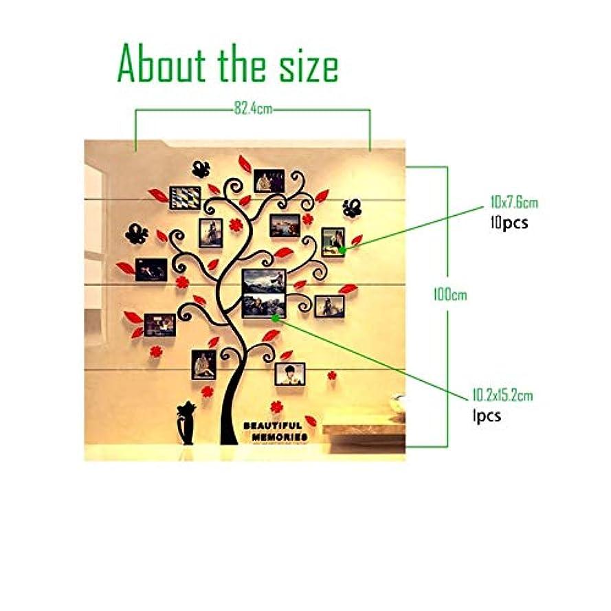 杖傘醸造所WXZD ファミリーツリーデカールステッカーアクリルフォトアルバムのためのウォールステッカーツリー状デコレーションステッカーホームデコレーション壁のポスターのハンギング (Color : 4)