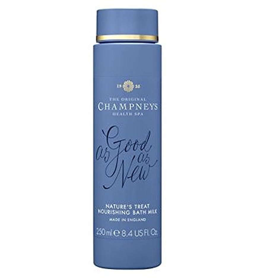 匿名実現可能ビルチャンプニーズの自然の御馳走栄養バスミルク250ミリリットル (Champneys) (x2) - Champneys Nature's Treat Nourishing Bath Milk 250ml (Pack of...