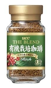 UCC ザ・ブレンド 有機栽培珈琲 インスタントコーヒー リッチ 瓶 50g