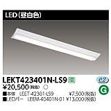 LED 蛍光灯 LED 照明 東芝TOSHIBA TENQOO 直付40W形 W230器具一体形 LED蛍光灯 4000lmタイプ FLR40形 ×2灯相当 5000K昼白色
