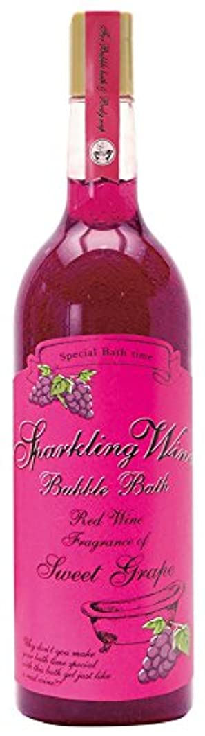 傭兵絶望足首ノルコーポレーション 入浴剤 バブルバス スパークリングワイン 大容量 810ml グレープの香り OB-WIB-3-1