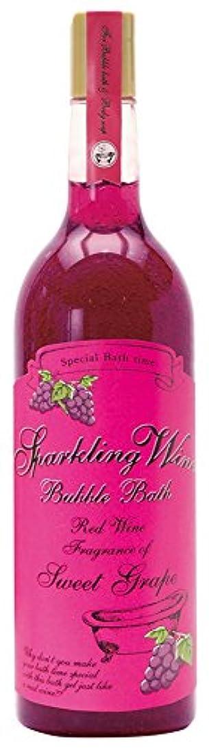 予約食料品店朝の体操をするノルコーポレーション 入浴剤 バブルバス スパークリングワイン 大容量 810ml グレープの香り OB-WIB-3-1