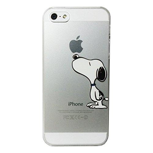 スヌーピー (SNOOPY) iPhone5/5s ケース クリアジャケット ソフトケース [並行輸入品]