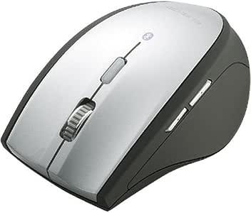 ELECOM Bluetoothマウス 5ボタン 光学式 シルバー M-BT3BRSV
