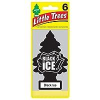 リトルツリー エアフレッシュナー 【Black Ice 6pac】6枚セット!LittleTree 芳香剤 ブラックアイス6枚組