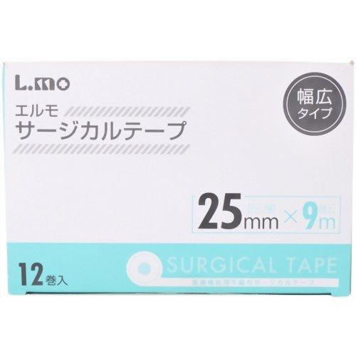 『エルモ サージカルテープ医療用 25mmx9m (12巻入)』のトップ画像