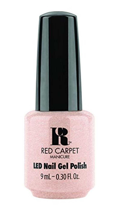 回転する招待バドミントンRed Carpet Manicure - LED Nail Gel Polish - Blase Beauty - 0.3oz/9ml