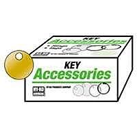 hy-ko Prod kb147キータグ、ラウンド真鍮、1–1/ 8-in。 10