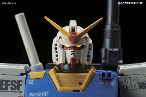MG機動戦士ガンダム THE ORIGIN RX-78-02 ガンダム(GUNDAM THE ORIGIN版)スペシャルエディション 1/100スケール 色分け済みプラモデル