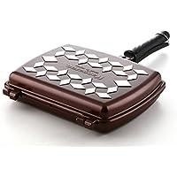 [シェプライン] ChefLine ダイヤモンド 鋳物 両面 フライパン グリルパン ローストパン ノンスティク Xylan 5 Layer Coating 31cm 魚焼き 焼き肉 海外直送品 (Diamond Casting Double-Side Pan Flying Pan Grill Pan Roast Pan)