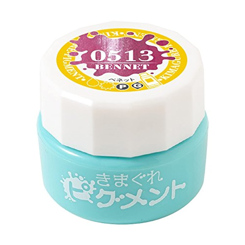 服を洗うリンク侮辱Bettygel きまぐれピグメント ベネット QYJ-0513 4g UV/LED対応