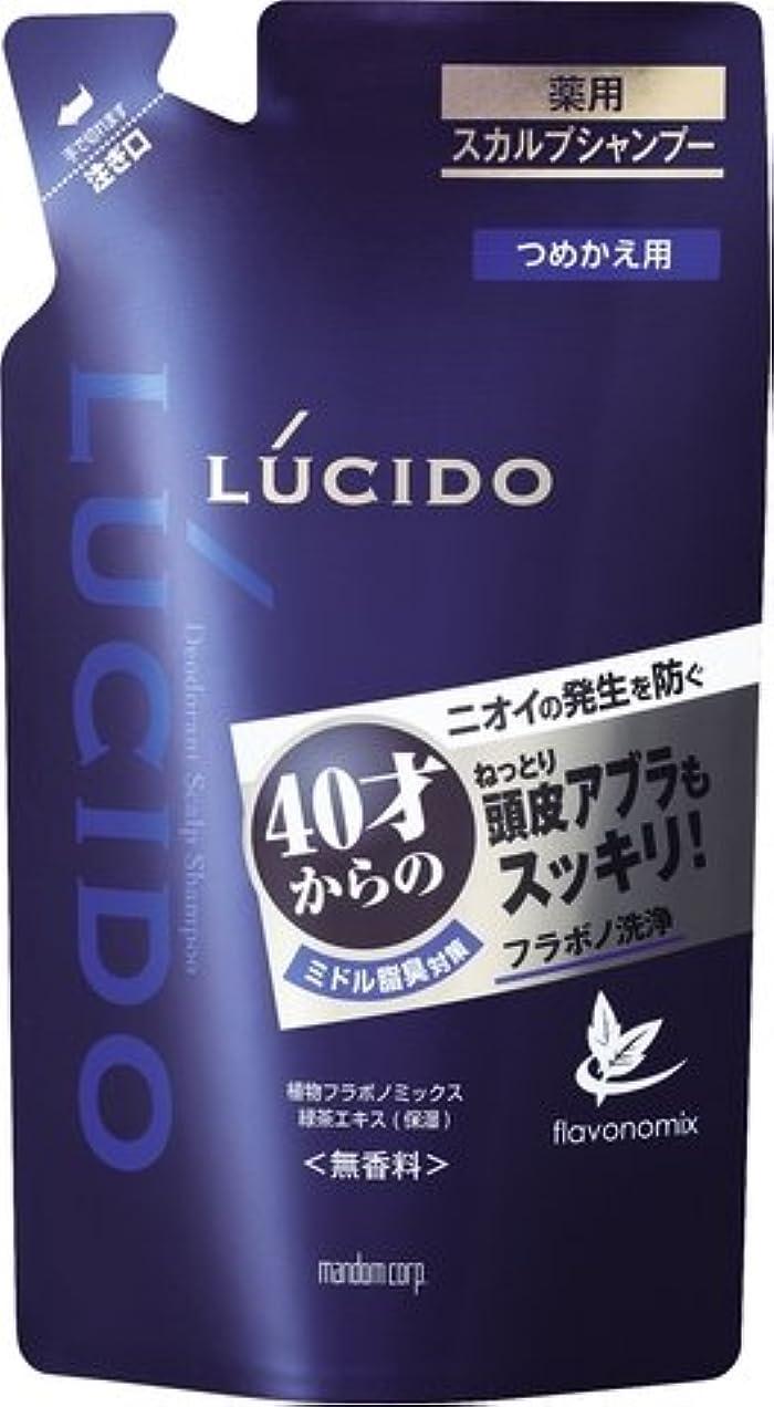 同時メーカー暫定のルシード 薬用スカルプデオシャンプー つめかえ用 (医薬部外品) × 5個セット