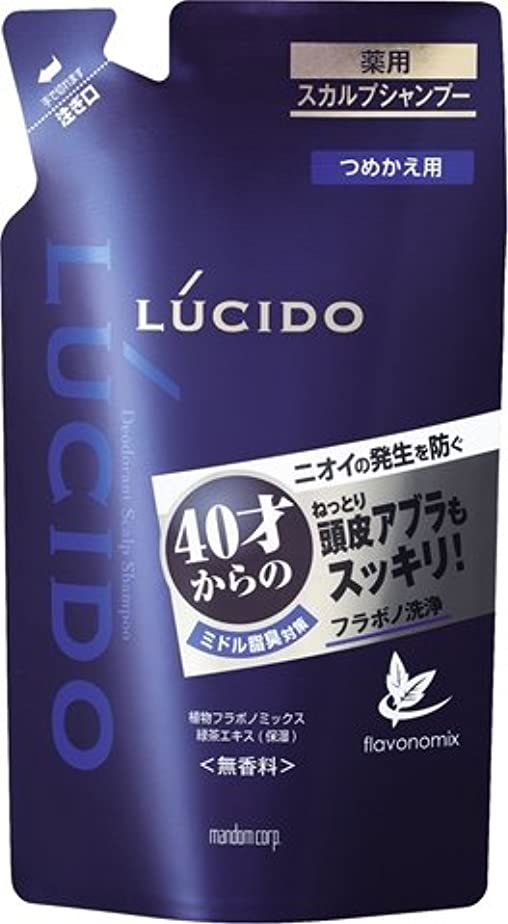 ガム一般的なサイドボードルシード 薬用スカルプデオシャンプー つめかえ用 (医薬部外品) × 3個セット