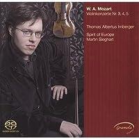 Violin Concerto, 3, 4, 5, : Irnberger(Vn) Sieghart / Spirit Of Europe