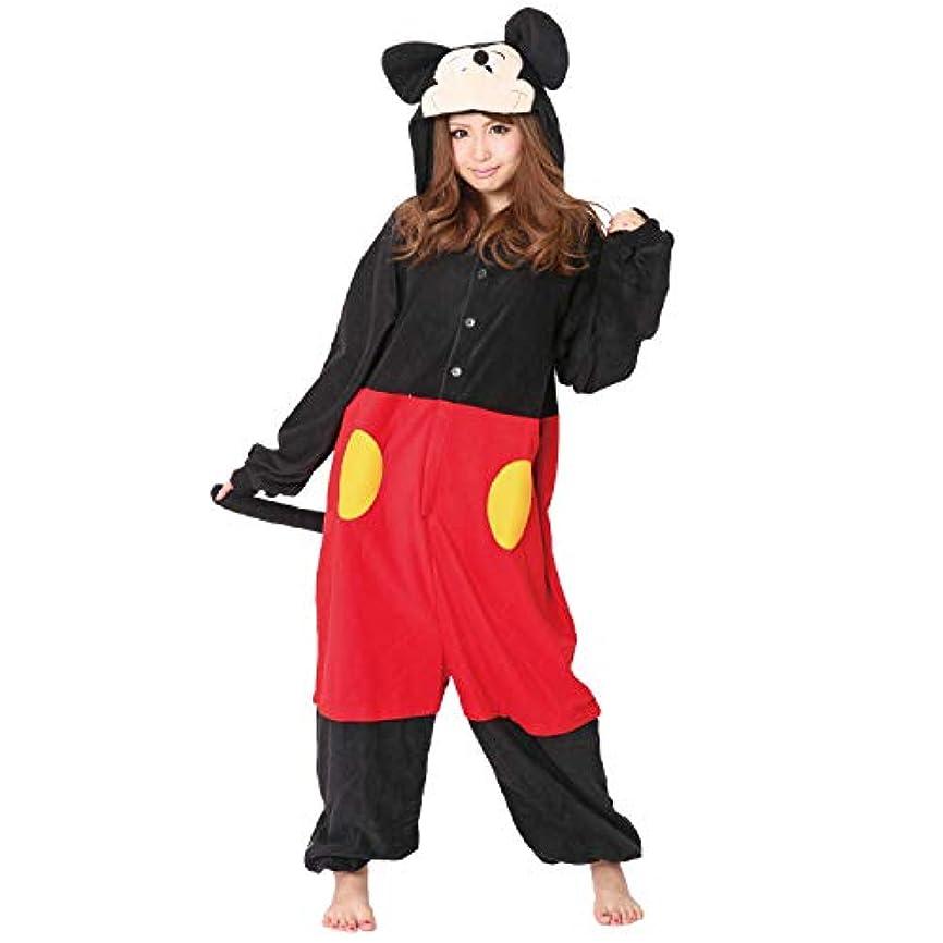 構成する母拒否RBJ025 着ぐるみ 大人用 フリース ディズニー 【 ミッキーマウス 】