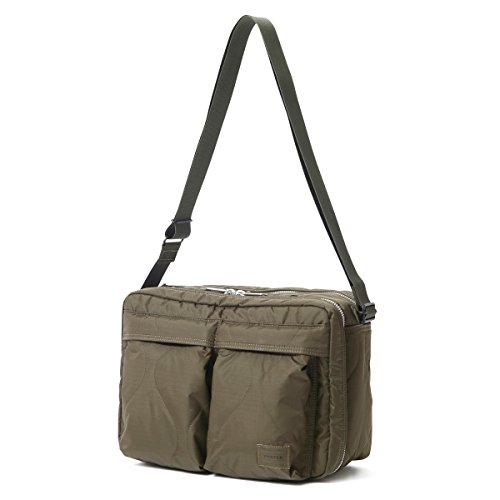 (ヘッド・ポーター) HEAD PORTER | CLAYTON | SHOULDER BAG (L) (OLIVE)