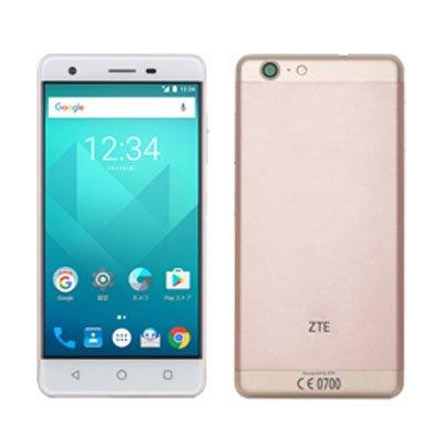UQ Mobile対応 SIMフリースマホ ZTE Blade V770 ゴールド