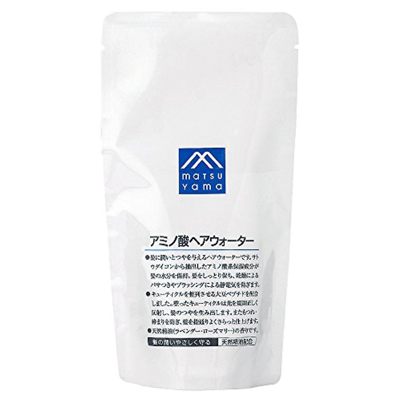 ロック解除不屈アルファベット順M-mark アミノ酸ヘアウォーター詰替用