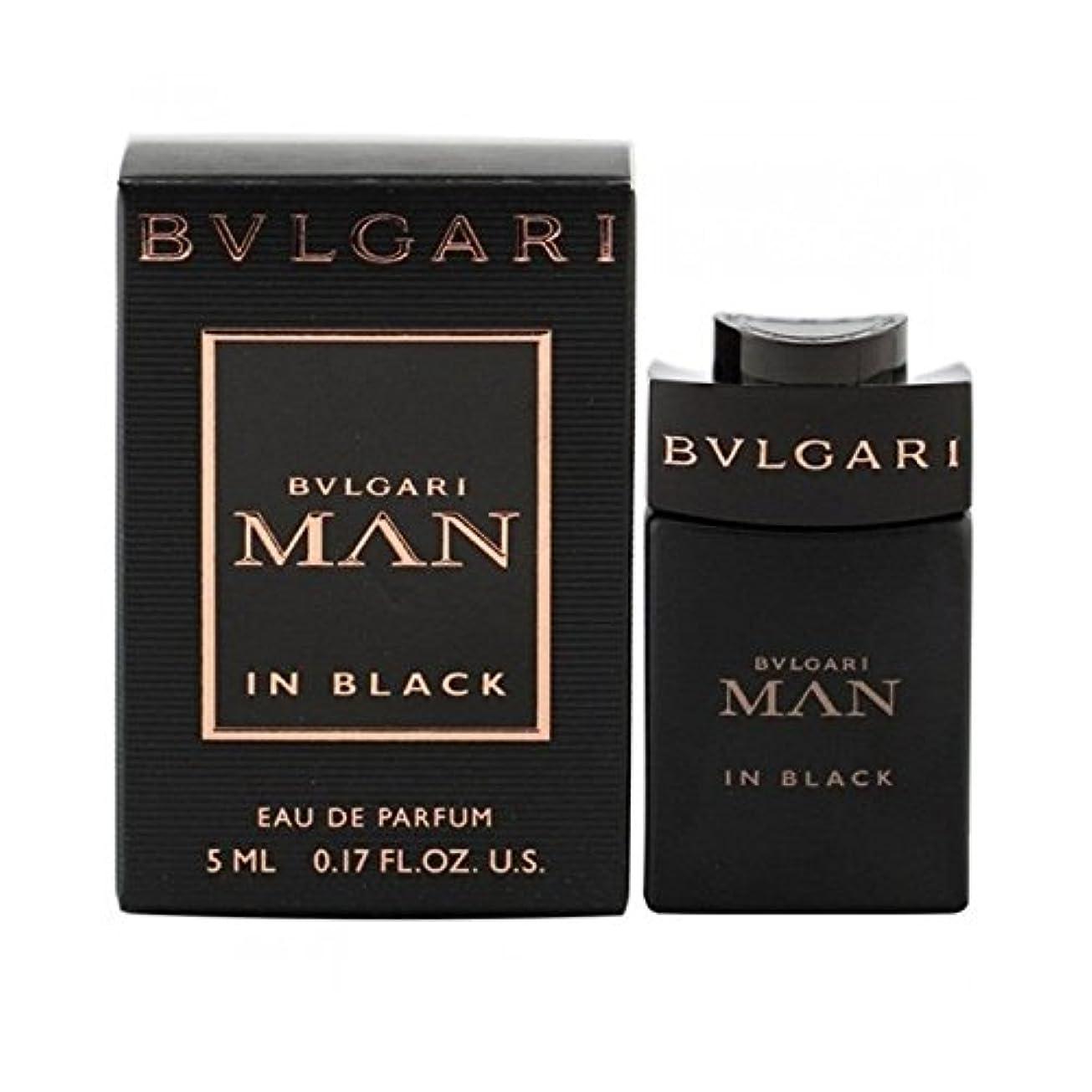 マイコン薄汚いペフBVLGARI ミニチュア香水 ブルガリ マン イン ブラック オーデパルファム 5ml EDP [並行輸入品]