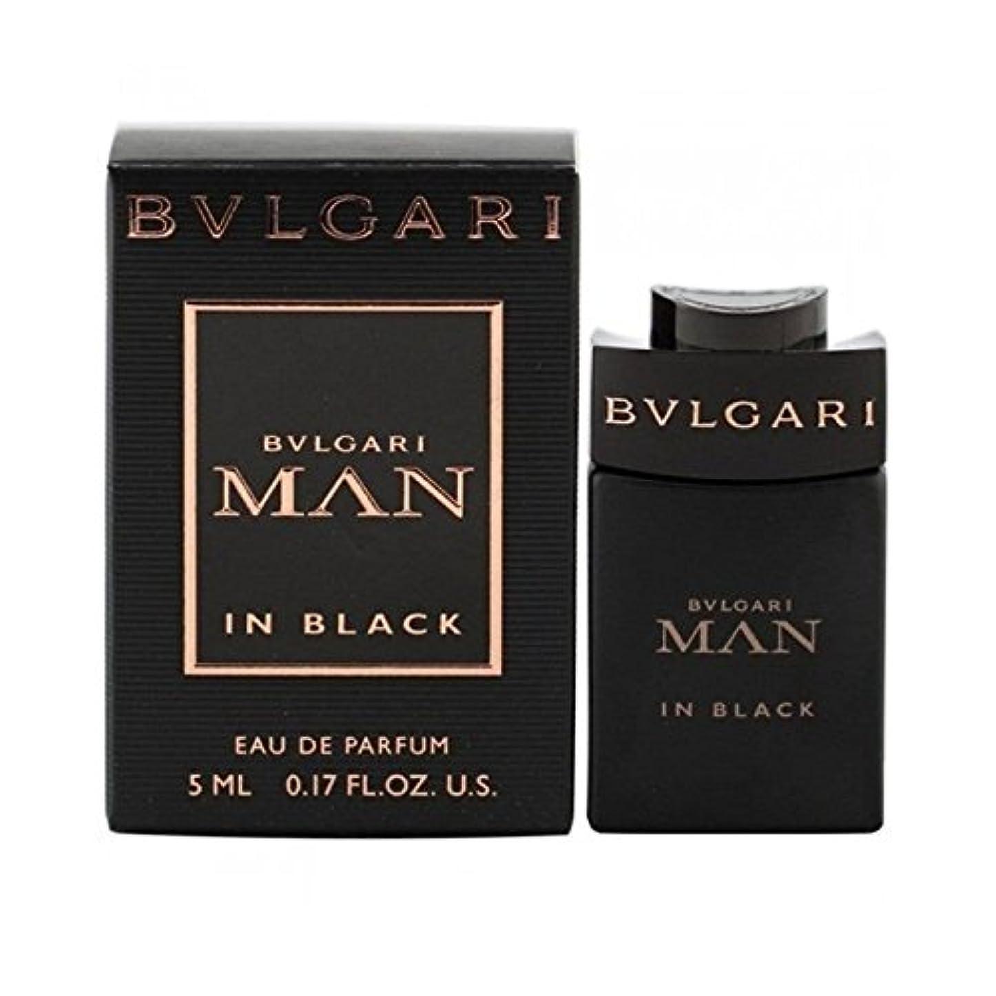 運営ピルファー誓約BVLGARI ミニチュア香水 ブルガリ マン イン ブラック オーデパルファム 5ml EDP [並行輸入品]