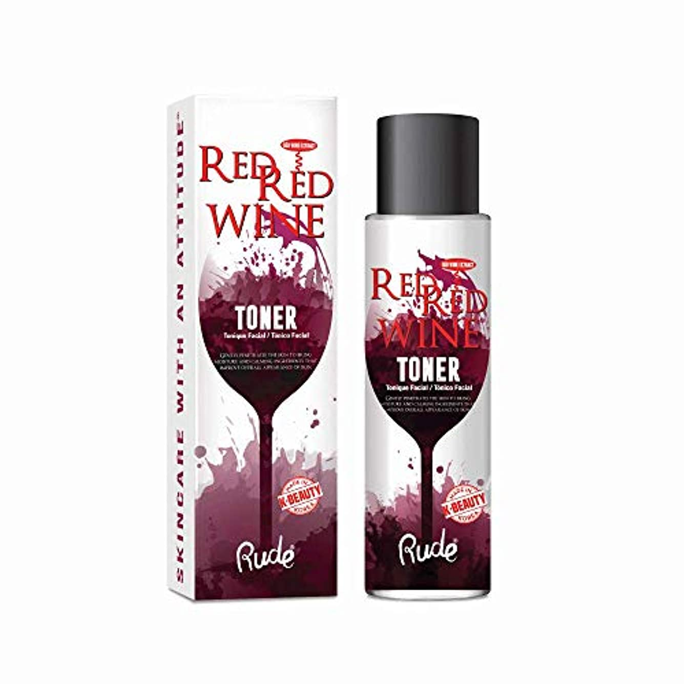 どきどき名門普通に(6 Pack) RUDE Red Red Wine Toner (並行輸入品)