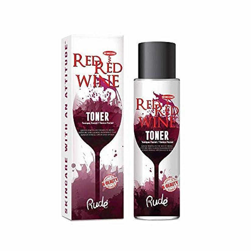 慣らす状況うそつき(3 Pack) RUDE Red Red Wine Toner (並行輸入品)