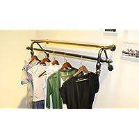浮遊式棚 コート衣類衣料品店紳士服と婦人服ディスプレイ壁掛けサイドマウント吊り下げラック吊り棚棚棚棚棚 工業用壁フレーム (サイズ さいず : 80センチメートル)