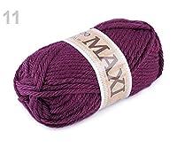 1 11(952)ピンク-紫編み糸ジャンボMaxi100gは、編成は、先細コ、刺繍、Haberdashery
