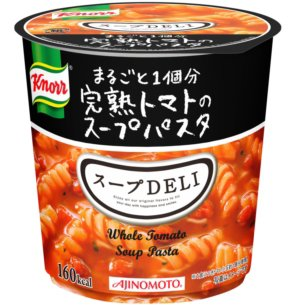 味の素 クノール スープDELI まるごと1個分完熟トマトのスープパスタ カップ 41.9g×48個入