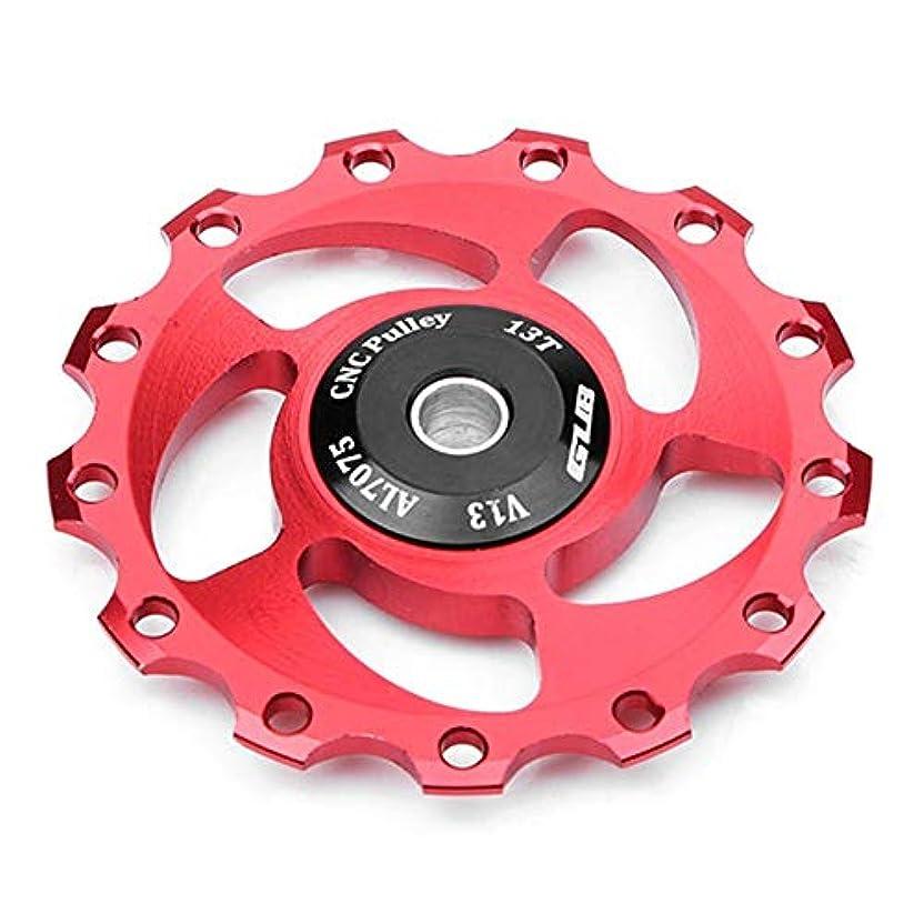 整理する呼びかける任命Runcircle ジョッキーホイール ベアリング内蔵 リア ディレーラー プーリー ディレーラーパーツ 交換用 13T MTBロードバイク マウンテンロード自転車用 サイクリング用